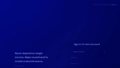 What Portal.gpm.ltd website looks like in 2021