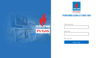 What Qlcv.pvgas.com.vn website looked like in 2018 (3 years ago)