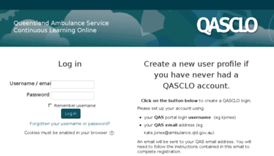 What Qasclo.net website looked like in 2018 (3 years ago)