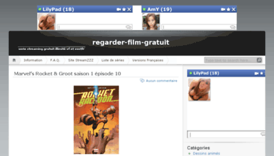 What Regarder-film-gratuit.eu website looked like in 2017 (4 years ago)