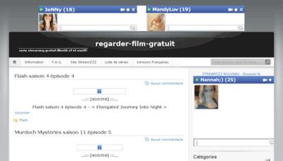 What Regarder-film-gratuit.eu website looked like in 2017 (3 years ago)