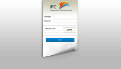 What Rupa2cabang.indonesiaport.co.id website looked like in 2018 (3 years ago)