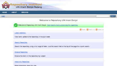 What Repository.uinib.ac.id website looked like in 2018 (3 years ago)