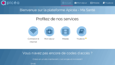 What Ramsaygds.wifipatient.fr website looked like in 2018 (2 years ago)
