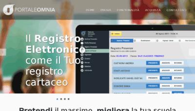 What Registro.portaleomnia.it website looked like in 2018 (2 years ago)