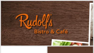 What Rudolfs-bistro.de website looked like in 2018 (3 years ago)
