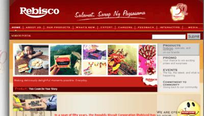 What Rrap.rebisco.com.ph website looked like in 2018 (3 years ago)