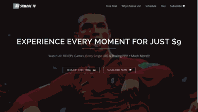 What Rushmore.tv website looked like in 2019 (2 years ago)