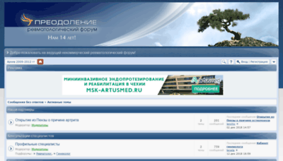 What Revmatikov.net website looked like in 2019 (2 years ago)