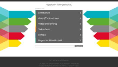 What Regarder-film-gratuit.eu website looked like in 2019 (2 years ago)