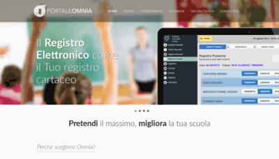 What Registro.portaleomnia.it website looked like in 2019 (1 year ago)