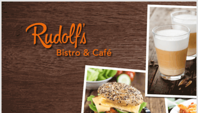 What Rudolfs-bistro.de website looked like in 2019 (1 year ago)