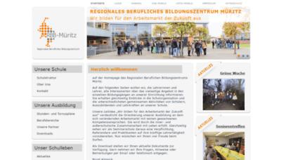 What Rbb-mueritz.de website looked like in 2020 (1 year ago)