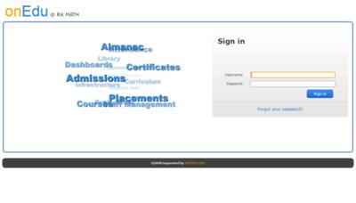 What Rkmath.winnou.net website looked like in 2020 (1 year ago)