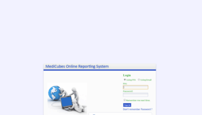 What Reports.idc.net.pk website looked like in 2020 (1 year ago)