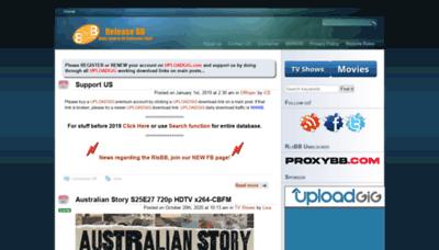 What Rlsbb.unblocked.mx website looked like in 2020 (This year)