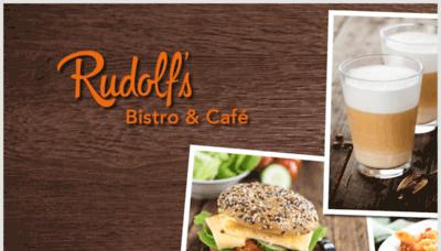 What Rudolfs-bistro.de website looks like in 2021