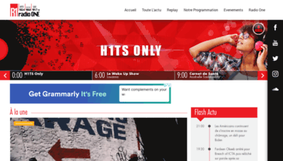 What R1.mu website looks like in 2021