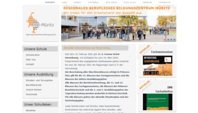 What Rbb-mueritz.de website looks like in 2021