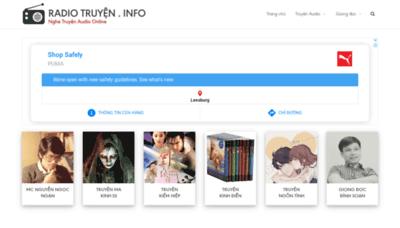 What Radiotruyen.info website looks like in 2021