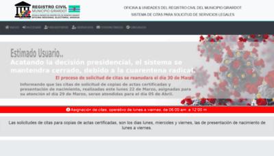 What Registro.orearagua.com.ve website looks like in 2021