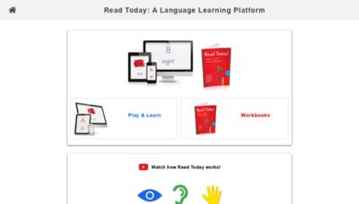 What Readtoday.net website looks like in 2021