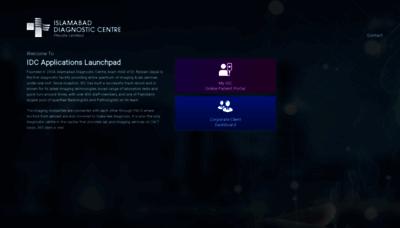 What Reports.idc.net.pk website looks like in 2021
