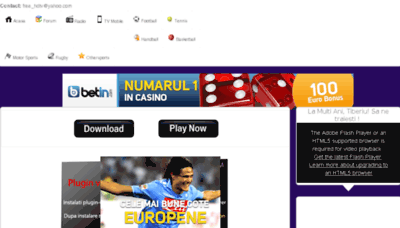 What Sports-tv.eu website looked like in 2013 (7 years ago)