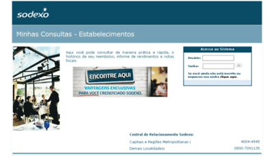 What Sodexoreembolso.com.br website looked like in 2016 (5 years ago)