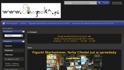 What Slupeks.pl website looked like in 2016 (4 years ago)