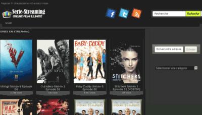 What Serie-streaming.biz website looked like in 2016 (4 years ago)