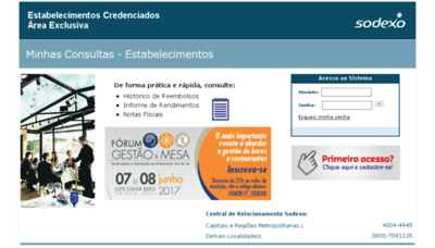 What Sodexoreembolso.com.br website looked like in 2017 (4 years ago)