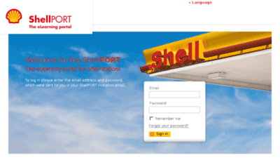 What Shellport.eu website looked like in 2017 (4 years ago)
