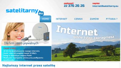 What Satelitarny.eu website looked like in 2018 (3 years ago)