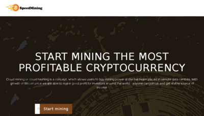What Speedmining.website website looked like in 2018 (3 years ago)