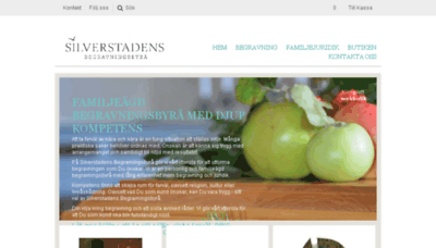 What Silverstadens.se website looked like in 2018 (3 years ago)