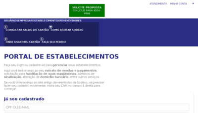 What Sodexoreembolso.com.br website looked like in 2018 (2 years ago)
