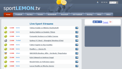 What Sportlemon.me website looked like in 2018 (3 years ago)