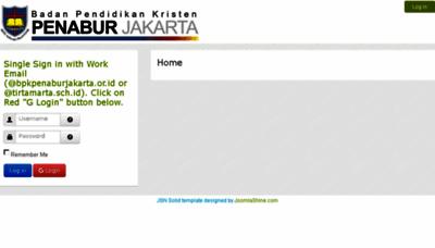 What Sas.bpkpenaburjakarta.or.id website looked like in 2018 (3 years ago)