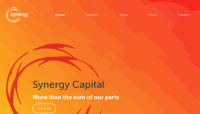 What Synergycapital.co.uk website looked like in 2018 (2 years ago)
