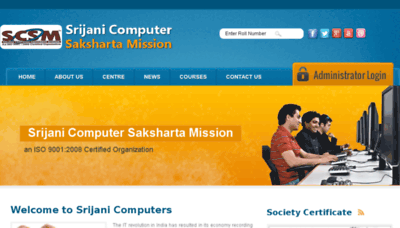 What Scsmindia.org website looked like in 2018 (3 years ago)