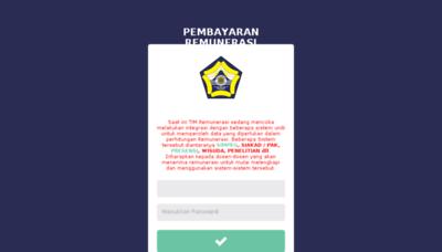 What Siremun.unib.ac.id website looked like in 2018 (2 years ago)