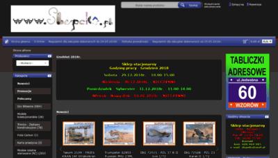 What Slupeks.pl website looked like in 2018 (2 years ago)