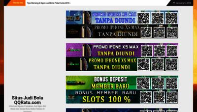 What Situsjudibolaqqratu.xyz website looked like in 2019 (2 years ago)