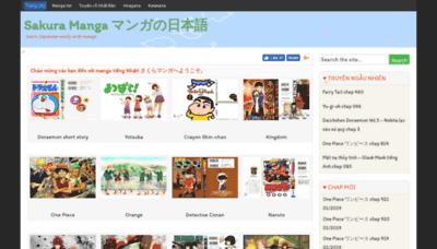 What Sakuramanga.net website looked like in 2019 (2 years ago)