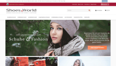 What Shoes-world.de website looked like in 2019 (2 years ago)