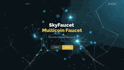 What Skyfaucet.win website looked like in 2019 (2 years ago)