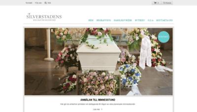 What Silverstadens.se website looked like in 2019 (2 years ago)