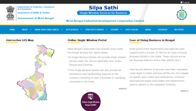 What Silpasathi.in website looked like in 2019 (2 years ago)