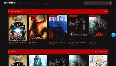 What Seriadostv.net website looked like in 2019 (2 years ago)